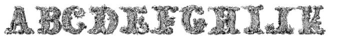 Florid Renaissance Font LOWERCASE