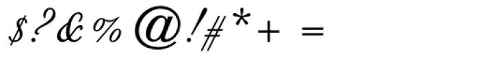 Floridian Script Font OTHER CHARS