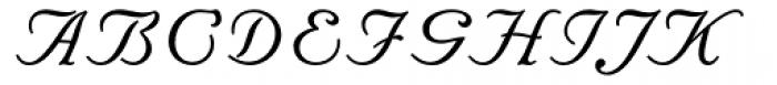 Floridian Script Font UPPERCASE