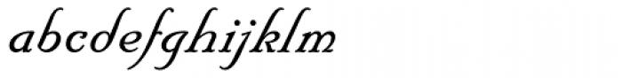 Floridian Script Font LOWERCASE