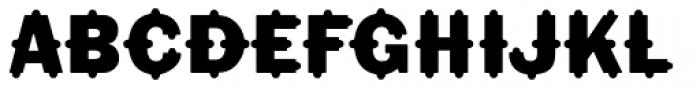 Florinda Std Font UPPERCASE