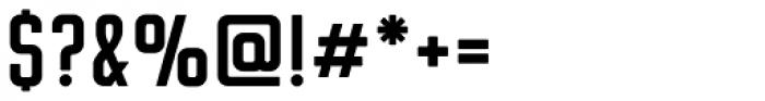 Flounder Medium Font OTHER CHARS