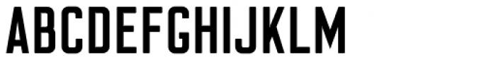 Flounder Medium Font UPPERCASE