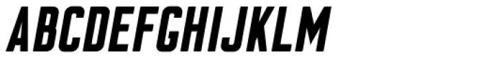 Flounder Pro Black Italic Font UPPERCASE