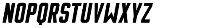 Flounder Pro Black Italic Font LOWERCASE