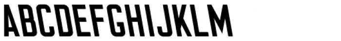 Flounder Pro Medium Cilati Font UPPERCASE