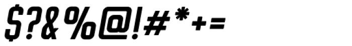 Flounder Pro Medium Italic Font OTHER CHARS