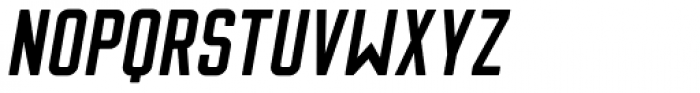 Flounder Pro Medium Italic Font UPPERCASE