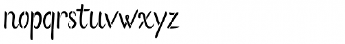 Flows Stencil Font LOWERCASE