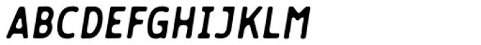 Flowy Sans Bold Ink Italic Font UPPERCASE