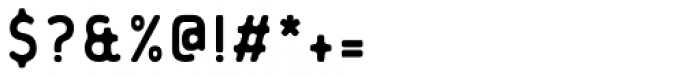 Flowy Sans-Bold Ink Font OTHER CHARS