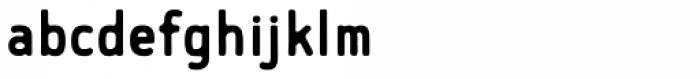 Flowy Sans-Bold Ink Font LOWERCASE