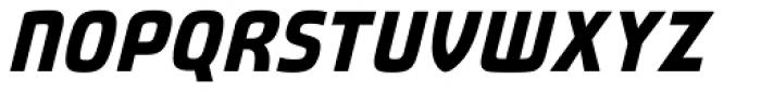 Fluctuation Bold Italic Font UPPERCASE