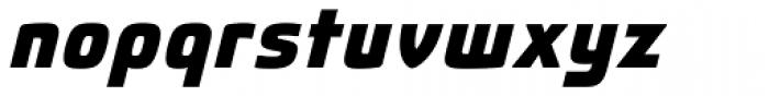 Fluctuation ExtraBold Italic Font LOWERCASE