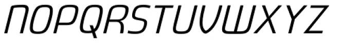 Fluctuation Light Italic Font UPPERCASE