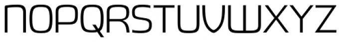 Fluctuation Light Font UPPERCASE