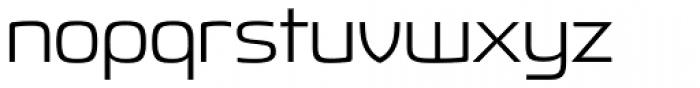 Fluctuation Light Font LOWERCASE