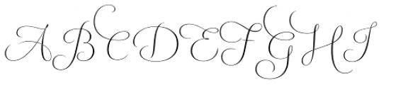 Fluence One Font UPPERCASE