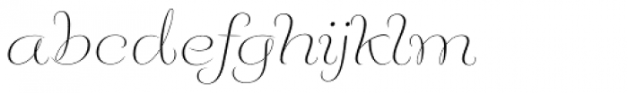 Fluence One Font LOWERCASE