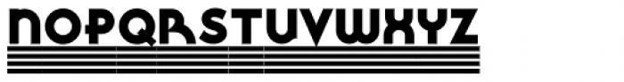 Fluid Drive NF Font UPPERCASE