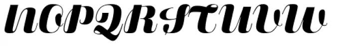 Fluidum Bold Font UPPERCASE
