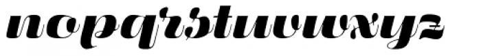 Fluidum Bold Font LOWERCASE