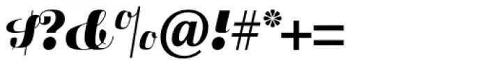 Fluidum Std Bold Font OTHER CHARS