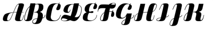Fluidum Std Bold Font UPPERCASE