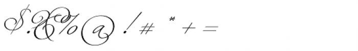 Fluire Font OTHER CHARS
