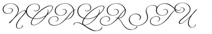 Fluire Font UPPERCASE
