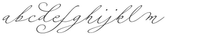 Fluire Font LOWERCASE