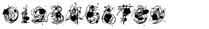 Flurry Black Font OTHER CHARS