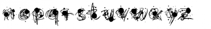 Flurry Black Font LOWERCASE