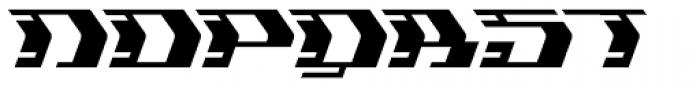 Flyover Regular Font UPPERCASE