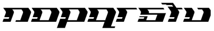 Flyover Regular Font LOWERCASE