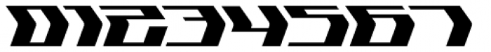 Flyover Solid Font OTHER CHARS