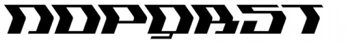 Flyover Solid Font UPPERCASE