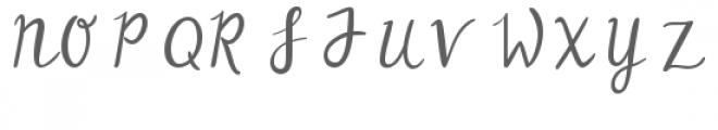 flower meadow Font UPPERCASE