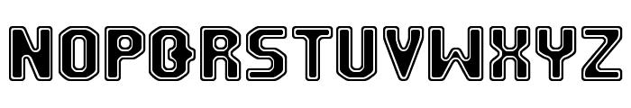 FM University Font LOWERCASE