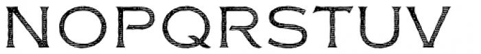 FM Bolyar Engraved One NPro 100 Font UPPERCASE