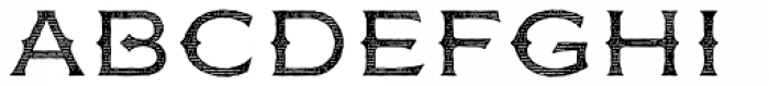 FM Bolyar Engraved One OPro 300 Font UPPERCASE