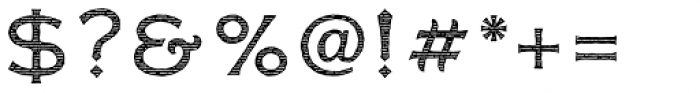 FM Bolyar Engraved Two NPro 300 Font OTHER CHARS