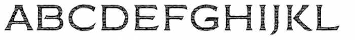 FM Bolyar Engraved Two NPro 300 Font LOWERCASE