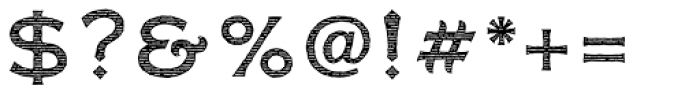 FM Bolyar Engraved Two NPro 500 Font OTHER CHARS