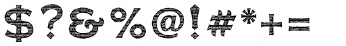 FM Bolyar Engraved Two NPro 700 Font OTHER CHARS