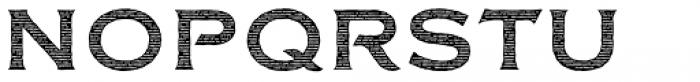 FM Bolyar Engraved Two NPro 700 Font UPPERCASE