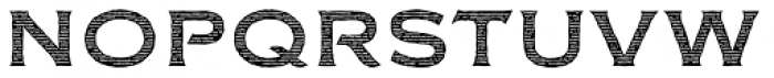 FM Bolyar Engraved Two NPro 700 Font LOWERCASE