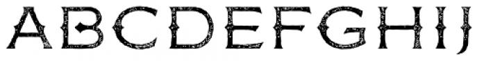 FM Bolyar Rust One OPro 100 Font UPPERCASE