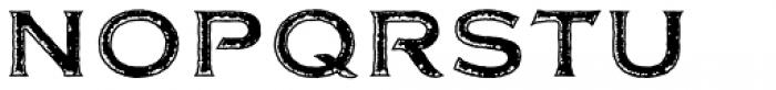 FM Bolyar Rust Two NPro 700 Font UPPERCASE