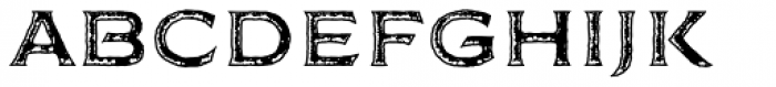 FM Bolyar Rust Two NPro 700 Font LOWERCASE